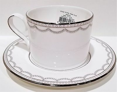 Lenox Iced Pirouette Cup and Saucer New