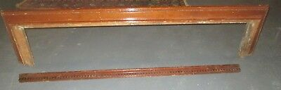 Antique Architectural Hallway  Or Large Window Cornice From An Ohio Estate # 32