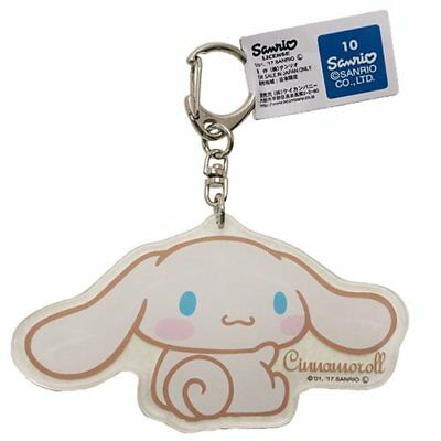Cinnamoroll Acrylic Key Holder Bag Charm Sanrio Japan
