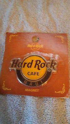 Hard Rock Cafe Maui Magnet New Original Wrapping with Tag