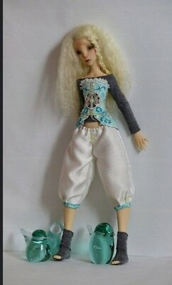Lillycat Cerisedolls Constantine Ombre Outfit of Corset and Bloomers For Msd