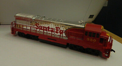 Bachmann HO Scale GE U36B Locomotive SANTA FE Red & Chrome NEW Old Stock 0633 DC