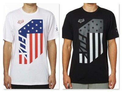 Fox Racing Red, White & True Tee T-Shirt *Various Colors and Sizes
