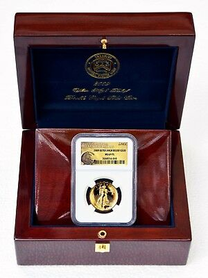 2009 Saint Gaudens Ultra High Relief, Gold $20, NGC, MS 69 PL (Proof Like)
