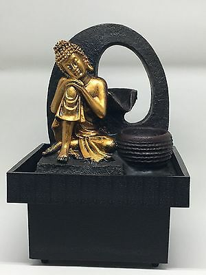 Buddha Water Feature - Abundance Indoor Water fountain (Pump, LED 1 Y Warranty)