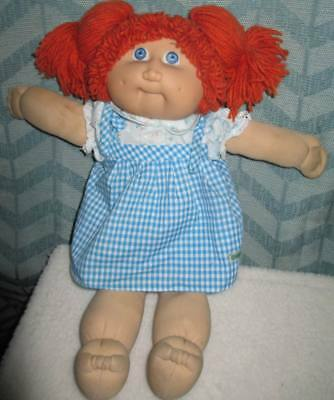 JESMAR REDHEAD GIRL CABBAGE PATCH KIDS DOLL w/Clothes Old Dolls, Toys, Vintage