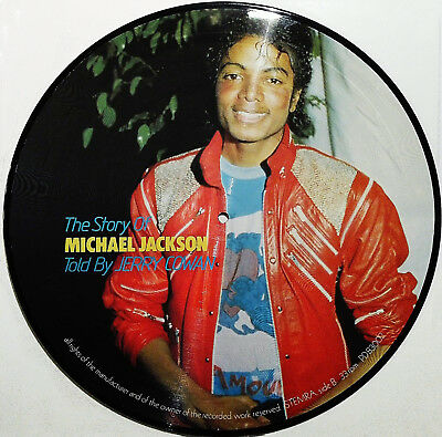 MICHAEL JACKSON - The Story of MICHAEL JACKSON Picture LP
