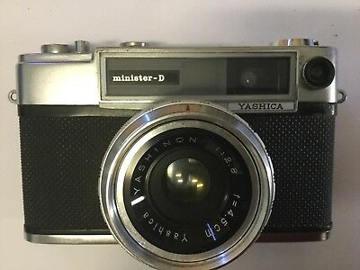 YASHICA MINISTER D circa 1964 S/N MD4046315