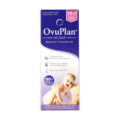 NEW Ovuplan 10 Day Pregnancy Planning Kit