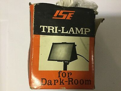 TRI- LAMP PANCHROMATIC Standard Light - For Dark Room - New Old Stock, No Bulb.