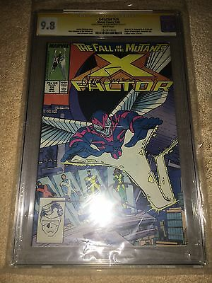 X-FACTOR 24 1st Appearence ARCH ANGEL CGC 9.8 Signed Walt & Louise Simonson