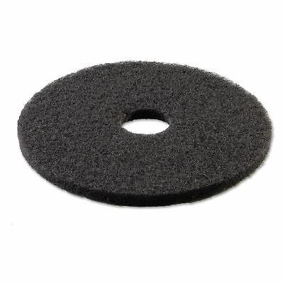 Boardwalk Standard 18' Stripping Floor Pads, Black, 5 Count