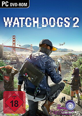 Watch Dogs 2 / Uplay PC Download Key / SOFORTVERSAND