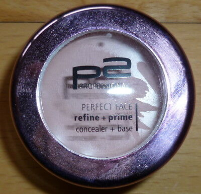 p2 PROFESSIONAL PERFECT FACE refine+ prime concealer + base 030 rose 5 ml