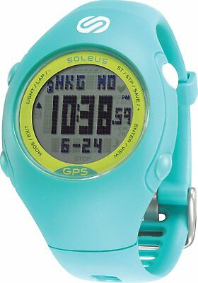 Soleus Mini GPS Running Smart Watch - Teal/Lime