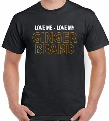 Love Me - My Barbe Ginger - Hommes T-shirt drôle slip taille basse moustache