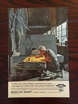 Norman Rockwell Magazine Ad