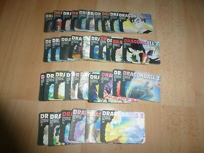 36 cartes Japan HOLO Collector RARE !!  Dragon BALL Z