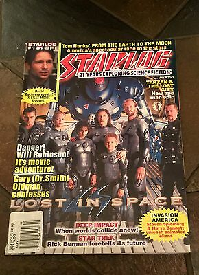 Starlog Mag. #250 1998. Sci-Fi /Cult. Lost In Space Cover. X Files/Star Trek etc