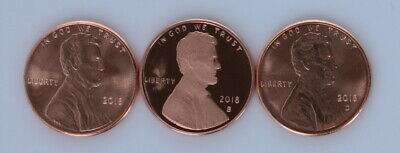 2018 S,P,D 1C Lincoln Proof DCAM New Release 2018 Proof S P,D BU All 3 Yes 2018