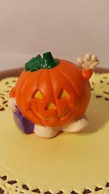 Hallmark Merry Miniatures Halloween 1992 Trick or Treat Pumpkin - New!