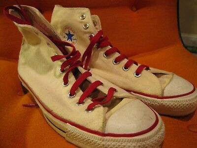 Converse All Star Chuck Taylor Made In USA Men Size 12 IRREGULAR NO RESERVE!