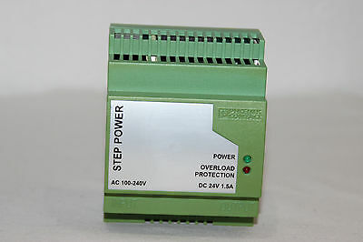 PHOENIX CONTACT Step Power PS 100-240AC 24DC 1,5A 2938947