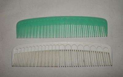 VTG Lot of 2 NEW Tupperware Hair Combs Aqua/White Small Pocket Tupper NOS