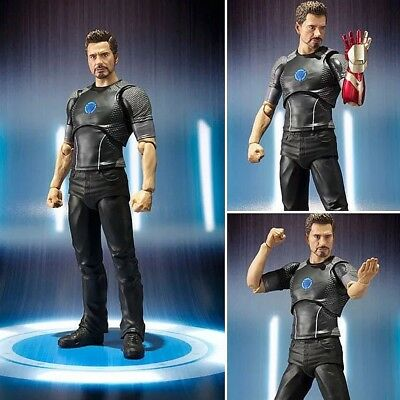 Iron Man Tony Stark Actionfigur Robert Downey Jr. Film Movie DVD Figur Avengers