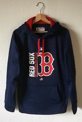 MAJESTIC - Authentic Boston Red Sox Hoodie / Kapuzenpullover - Gr. M