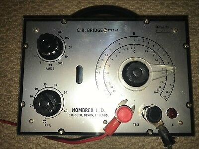 Nombrex CR Bridge Model 62 - Vintage
