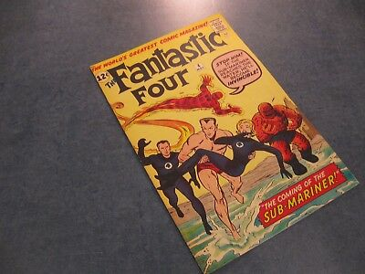 Facsimile reprint covers only to FANTASTIC FOUR #4