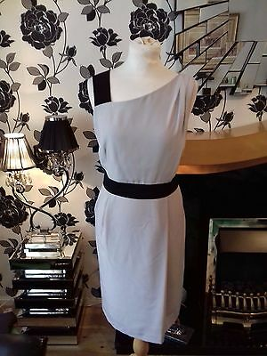 Stunning Ladies Autograph By Marks & Spencer Black mix Dress Size 12 NEW RRP £59