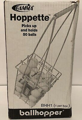 Gamma BHH1 Ball Hopper Hoppette 50 Ball Holder Tennis NEW IN BOX