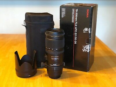 Sigma APO DG HSM  EX 70-200mm f/2.8  Lens For Canon - Used, Great Condition