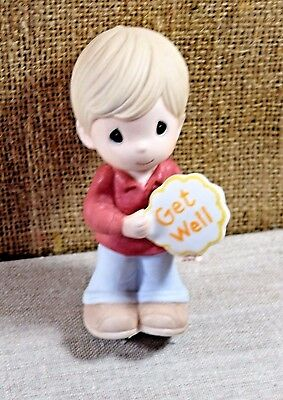 Precious Moments Get Well Wishes Figurine New In Box