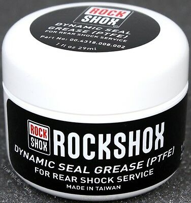 RockShox Dynamic Seal Grease for Rear MTB Bike Shock PTFE 1oz (29ml) Tub / Jar