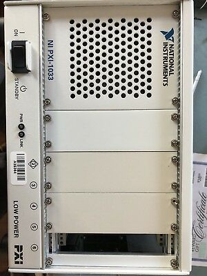 NI PXI-1033 5-Slot PXI Chassis Mainframe Nice Working piece
