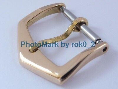 GENUINE PATEK PHILIPPE 18K SOLID YELLOW GOLD 18ct 16mm TANG PIN BUCKLE CLASP!!!