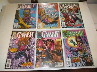 Gambit, 1999 Lot, #s 1-25, Annual 99, 00, Complete Series, X-Men Wolverine Rogue