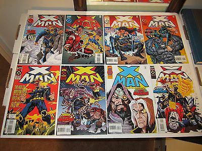 X-MAN #s 1-75 Complete Series, X-Men Age Of Apocalypse Generation X, Hot Sale!!!