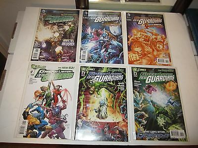 Green Lantern New Guardians, New 52 #s 0 1-40, Ann. 1, Futures End 3D, Complete