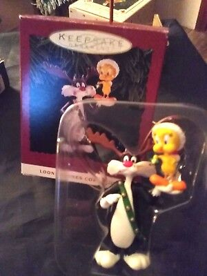 1993 Hallmark Looney Tunes Collection Sylvester and Tweety PreOwned