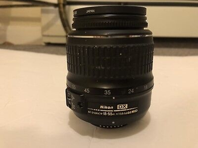 Nikon DX ED AF-S Nikkor 18-55mm 1:3.5-5.6 GII Camera Lens