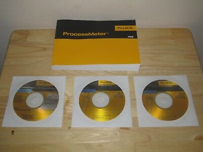 Fluke 789 ProcessMeter Multimeter Manual with (2) 5616 & 9900 Software - MINT!