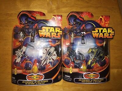 Star Wars Revenge Of The Sith Micro Vehicles