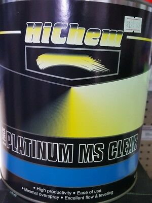 Hichem 2 Pack Platinum MS CLEAR Excellent Flow & Leveling 4L