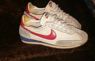 Vintage Nike Shoes 5.5 1980 Orange Tag