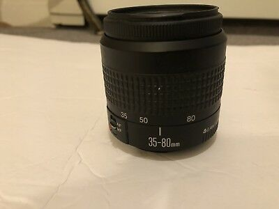 Canon Zoom Lens EF 35-80mm f/4-5.6 II for Canon Digital SLR