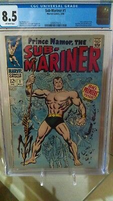 Sub-Mariner 1 CGC 8.5 OW Pages 1968